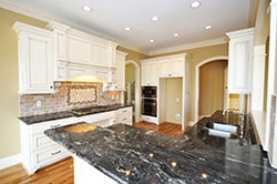 Black Granite kitchen white cabinets - Phoenix Arizona Phoenix Arizona