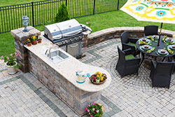 Phoenix Arizona outdoor bbq Granite kitchen Affordable Granite Phoenix