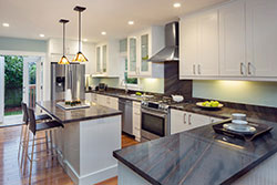 Phoenix Arizona white cabinets Granite kitchen Affordable Granite Phoenix